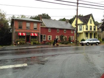 Residents of the Unionville Village section of East Marlborough say not enough is being done to slow and prevent truck traffic through the historic neighborhood.